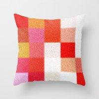 blanket Throw Pillows featuring Blanket by Mr & Mrs Quirynen