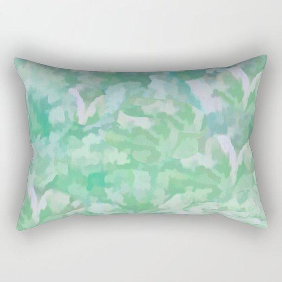 Summer Green Rectangular Pillow