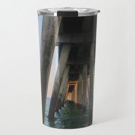 Under the Boardwalk Travel Mug