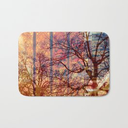 shadow trees Bath Mat