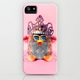 Furby Princess iPhone Case