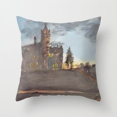 Crouse College, Syracuse University Throw Pillow