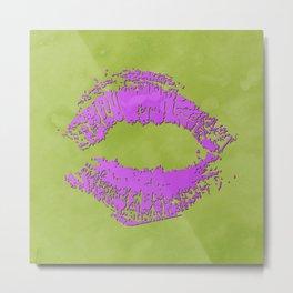 Watercolor kiss 7 Metal Print