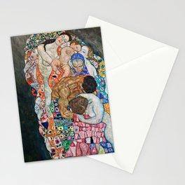 Gustav Klimt - Death And Life Stationery Cards