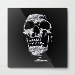 Metal Skull Metal Print