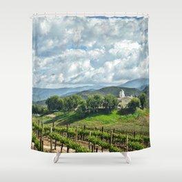 Vineyards, Temecula, CA Shower Curtain