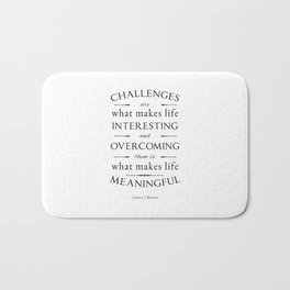 Challenges  Bath Mat