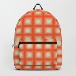 ORANGE CUBES Backpack