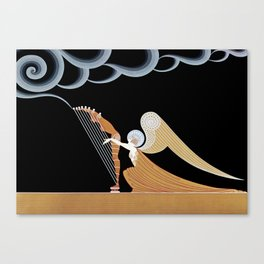 "Art Deco Design ""The Angel"" Canvas Print"