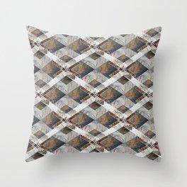 Geometric Collage Throw Pillow