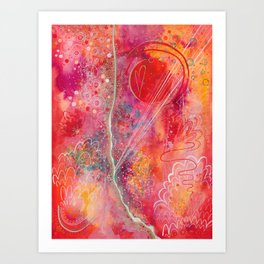 till your love is red Art Print