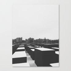 Memorial, Berlin Canvas Print