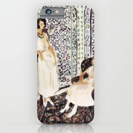 Henri Matisse - Moorish Screen - Exhibition Poster iPhone Case
