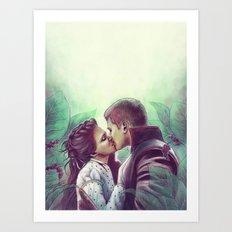 Fairytale Wedding Art Print