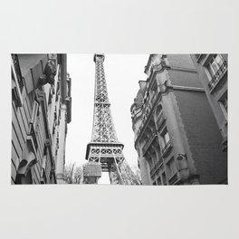 The Eifel tower in Paris Rug