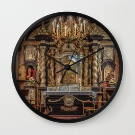 Wedding Chapel Wall Clock