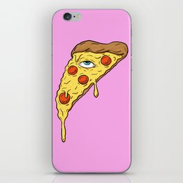 All Seeing Pizza iPhone Skin