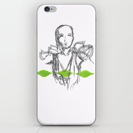 Leaf Lady iPhone Skin