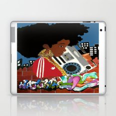 Old school Afro Laptop & iPad Skin