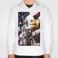 patriotic Hoodies featuring PATRIOTIC TIMES by PERRY DAEZIOUH