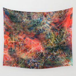 Sketchy Abstract Wall Tapestry
