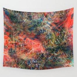 Sketchy Abstract Wall Tapestry