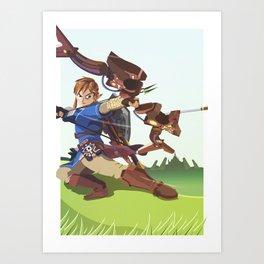 The Wilds - Legend of Zelda Art Print