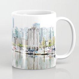 Vancouver Skyline Coffee Mug
