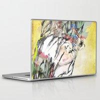 archan nair Laptop & iPad Skins featuring Dusk by Archan Nair