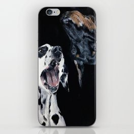 Contrasting Dogs iPhone Skin