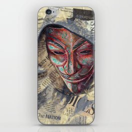 Fawkes iPhone Skin