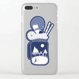 Whipped Cream Day Clear iPhone Case