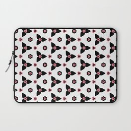 Abstract Floral Laptop Sleeve