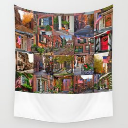 Beacon Hill Collage 2 Wall Tapestry