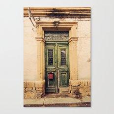 Nicosia Doorway Canvas Print