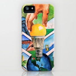 Protecting the Environment iPhone Case