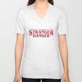 Stranger Danger 2 Unisex V-Neck