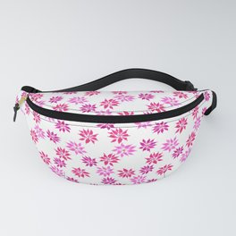 Bright Winter Flowers Fanny Pack