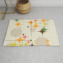 Starbursts and Globes 3 Rug