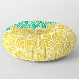 Pineapple Seas Floor Pillow