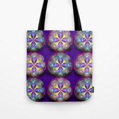 Fractal Buttons Tote Bag