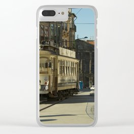 Porto Streetcar Clear iPhone Case