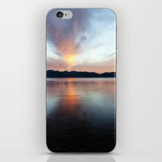 after sunset iPhone & iPod Skin