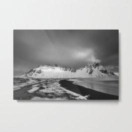 Vestrahorn, Iceland (infrared) Metal Print