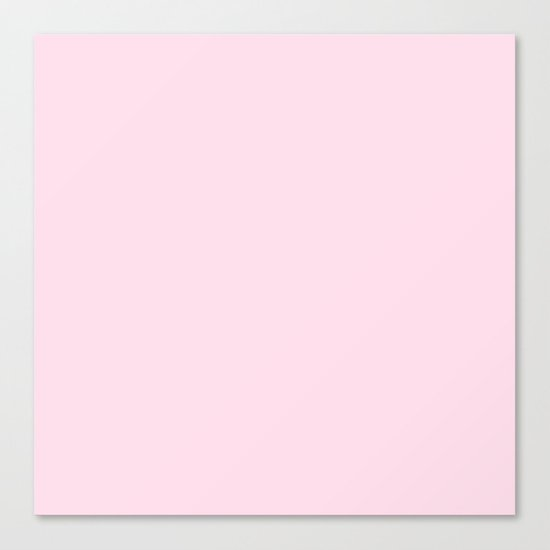 Simply pink color - Mix and Match with Simplicity of Life Canvas Print