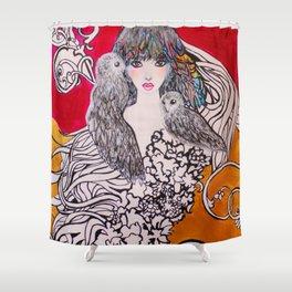 ECLIPSE #society6 #decor #buyart Shower Curtain