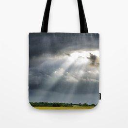 Texas sunrays Tote Bag