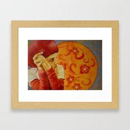 Vermillion Framed Art Print