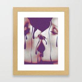 Lust Framed Art Print