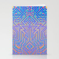 tron Stationery Cards featuring Tron-ish by Roberlan Borges